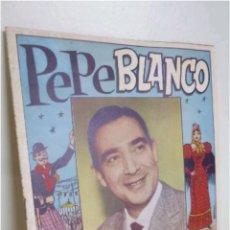 Catálogos de Música: CANCIONERO PEPE BLANCO 1961. Lote 118262392