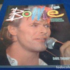 Catálogos de Música: LIBRO DAVID BOWIE ( MOONAGE DAYDREAM ) DAVE THOMPSON 1987 Nº DE PAGINAS 224. Lote 232325735