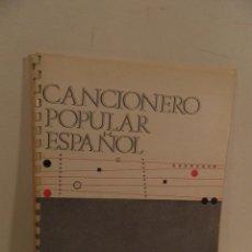 Catálogos de Música: CANCIONERO POPULAR ESPAÑOL DELEGACIÓN NACIONAL DE LA SECCIÓN FEMENINA DEL MOVIMIENTO 1968. Lote 118755319