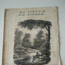 Catálogos de Música: EL VALLE (LE VALON) MEDITACION MUSICA DE C.GOUNOD. SOLFEO (CASA PERELLO PALMA MALLORCA). Lote 119075743