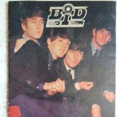 Catálogos de Música: BID. Nº 66. 1989. BOLETIN INFORMATIVO DISCOPLAY. THE BEATLES. PORTADA Y DISCOGRAFIA EN INTERIOR.. Lote 119960899