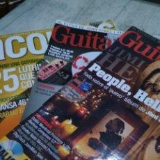 Catálogos de Música: LOTE 3 REVISTAS GUITARRA. Lote 120961443