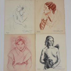 Catálogos de Música: LOTE DE 4 PROGRAMAS DE LA ASSOCIACIÓ DE MÚSICA DA CAMERA. BARCELONA. 1934-1936.. Lote 121232087
