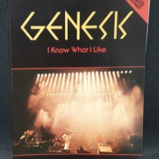 Catálogos de Música: GENESIS - I KNOW WHAT I LIKE - LIBRO - UK - TAPA BLANDA - ARMANDO GALLO - PHIL COLLINS-PETER GABRIEL. Lote 121382459