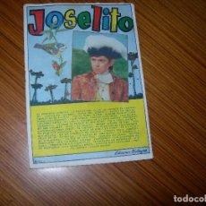 Catálogos de Música: JOSELITO EDITA BISTAGNE . Lote 121647259