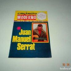 Catálogos de Música: ANTIGUO CANCIONERO DE JUAN MANUEL SERRAT DEL AÑO 1968. Lote 121666059
