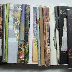 Catálogos de Música: LOTE 25 CATALOGOS BOLETIN DISCOPLAY AÑOS 2001 A 2004. Lote 121872631