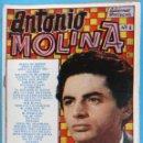 Catálogos de Música: REVISTA CANCIONERO ANTONIO MOLINA , ANTIGUO , ORIGINAL. Lote 121892619