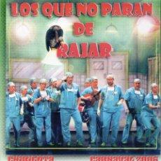 Catálogos de Música: CARNAVAL DE CADIZ, 2006. 2º PREMIO CHIRIGOTAS. LOS QUE NO PARAN DE RAJAR. Lote 253187460