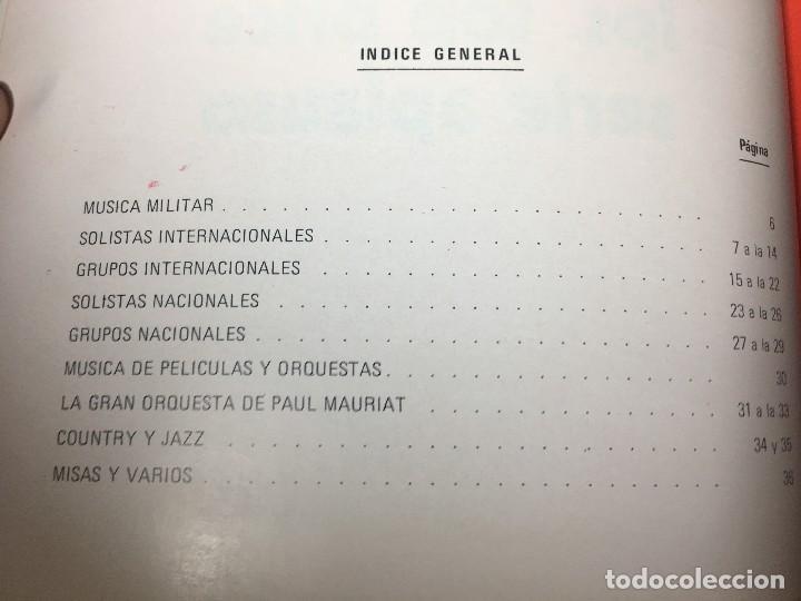 Catálogos de Música: RA4 ANTIGUO DISCO DISCOS CATALOGO GENERAL CATALOGO FONOGRAM ORIGINAL AÑOS 70, 66 PAGINAS - Foto 2 - 122843767