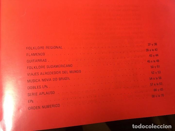 Catálogos de Música: RA4 ANTIGUO DISCO DISCOS CATALOGO GENERAL CATALOGO FONOGRAM ORIGINAL AÑOS 70, 66 PAGINAS - Foto 3 - 122843767