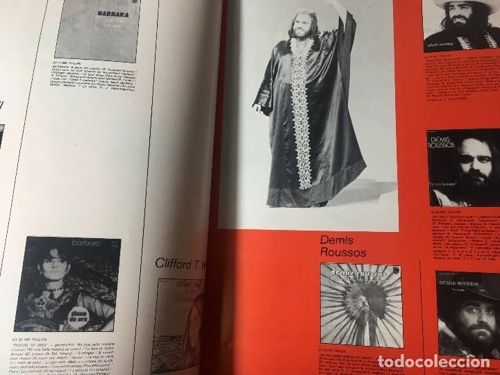 Catálogos de Música: RA4 ANTIGUO DISCO DISCOS CATALOGO GENERAL CATALOGO FONOGRAM ORIGINAL AÑOS 70, 66 PAGINAS - Foto 5 - 122843767
