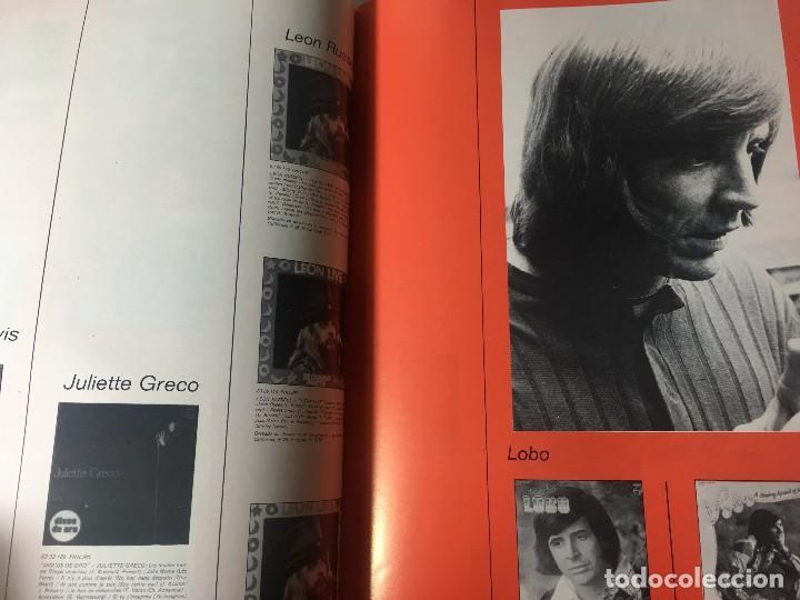 Catálogos de Música: RA4 ANTIGUO DISCO DISCOS CATALOGO GENERAL CATALOGO FONOGRAM ORIGINAL AÑOS 70, 66 PAGINAS - Foto 6 - 122843767