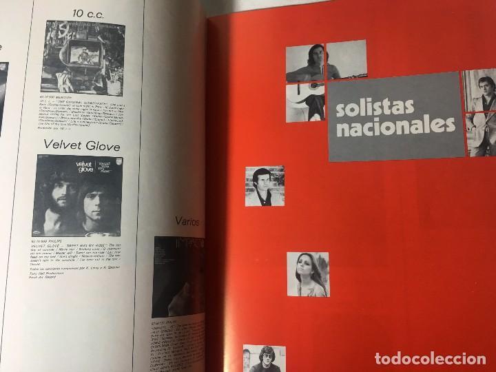 Catálogos de Música: RA4 ANTIGUO DISCO DISCOS CATALOGO GENERAL CATALOGO FONOGRAM ORIGINAL AÑOS 70, 66 PAGINAS - Foto 8 - 122843767