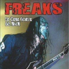 Catálogos de Música: FREAKS, LA CARA OCULTA DEL ROCL. Lote 122851319