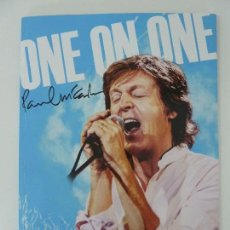 Cataloghi di Musica: ONE ON ONE TOUR 2016. PAUL MCCARTNEY. . Lote 122907995
