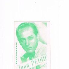 Catálogos de Música: CANCIONERO DE JUAN PEIRO. Lote 123059659