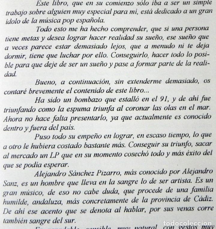 Catálogos de Música: UN ÁNGEL MORTAL LLAMADO ALEJANDRO SANZ LIBRO BIOGRAFÍA ANÁLISIS FOTOS CANTANTE ESPAÑOL MÚSICA ÍDOLO - Foto 3 - 124531159
