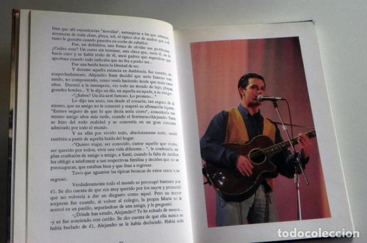 Catálogos de Música: UN ÁNGEL MORTAL LLAMADO ALEJANDRO SANZ LIBRO BIOGRAFÍA ANÁLISIS FOTOS CANTANTE ESPAÑOL MÚSICA ÍDOLO - Foto 4 - 124531159