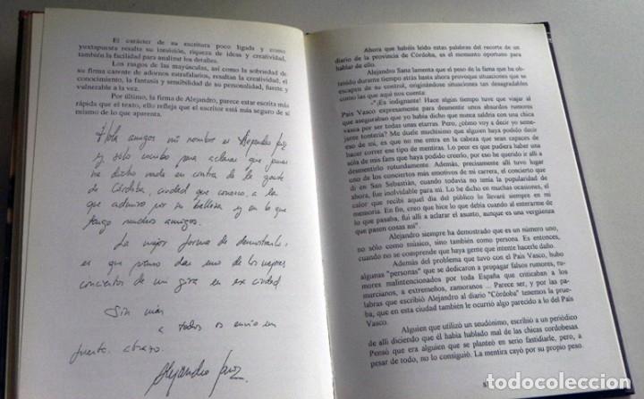 Catálogos de Música: UN ÁNGEL MORTAL LLAMADO ALEJANDRO SANZ LIBRO BIOGRAFÍA ANÁLISIS FOTOS CANTANTE ESPAÑOL MÚSICA ÍDOLO - Foto 5 - 124531159