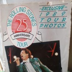 Catálogos de Música: THE ROLLING STONES EXCLUSIVE TOUR PHOTOS 1989 -25 ANIVERSARY TOUR. Lote 124677715