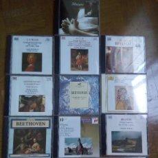 Catálogos de Música: LOTE VARIADO DE 13 DISCOS CD DE CLÁSICA Y MAS - COLECCIONES - CD-ROM - MOZART BEETHOVEN Y MAS . Lote 126072779