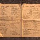 Catálogos de Música: LOS ÚLTIMOS ÉXITOS DE LA CANCIÓN. HOJA SUELTA, (2) CON BOLEROS, TANGOS Y PASADOBLES... (H.1930?). Lote 126731840