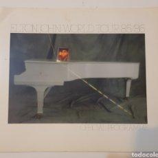 Catálogos de Música: PROGRAMA ELTON JOHN WORLD TOUR 85/86. Lote 126819940