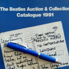 Catálogos de Música - The Beatles Auction & Collection Catalogue. 1991. BBC International club. - 127747911