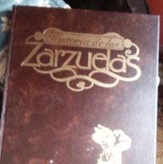 Catálogos de Música: HISTORIA DE LAS ZARZUELAS-TOMO 1 (RTVE). Lote 128222843