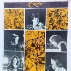Catálogos de Música: CARAVAN THE ONLY OFFICIAL TOUR MAGAZINE 1976. Lote 128379563