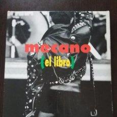 Catálogos de Música: MECANO EL LIBRO / COMPLETO CON CAJA Y CD / 1992. Lote 128470315