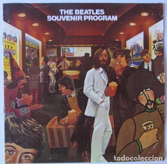 THE BEATLES SOUVENIR PROGRAM, 1982. EMI-ODEON. (Música - Catálogos de Música, Libros y Cancioneros)
