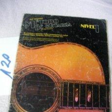Catálogos de Música: ANTIGUO METODO DE GUITARRA. Lote 128809763