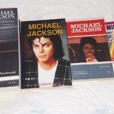 Catálogos de Música: LOTE DE LIBROS DE MICHAEL JACKSON. Lote 128888659