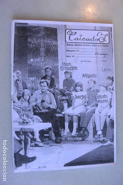 FANZINE CATEADOS. Nº 18. GRANOLLERS (Música - Catálogos de Música, Libros y Cancioneros)