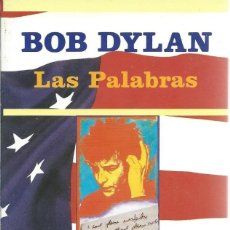 Catálogos de Música: BOB DYLAN, LAS PALABRAS. -JUCAR-. Lote 129033127