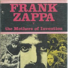Catálogos de Música: FRANK ZAPPA (JUCAR 1ª ED. 1981). Lote 129108515