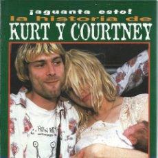 Cataloghi di Musica: LA HISTORIA DE KURT Y COURTNEY (MIDONS, 1996). Lote 129191431