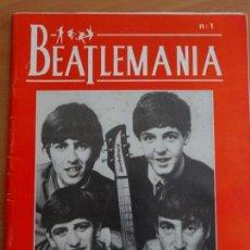 Catálogos de Música: THE BEATLES FANZINE BEATLEMANI. Lote 130120143