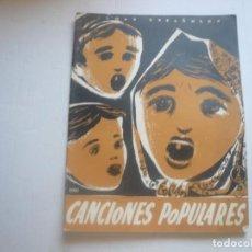 Catálogos de Música: CANCIONES POPULARES-NUM 158. Lote 130504734