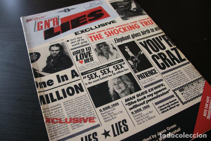 Guns N Roses Lies Tab Book