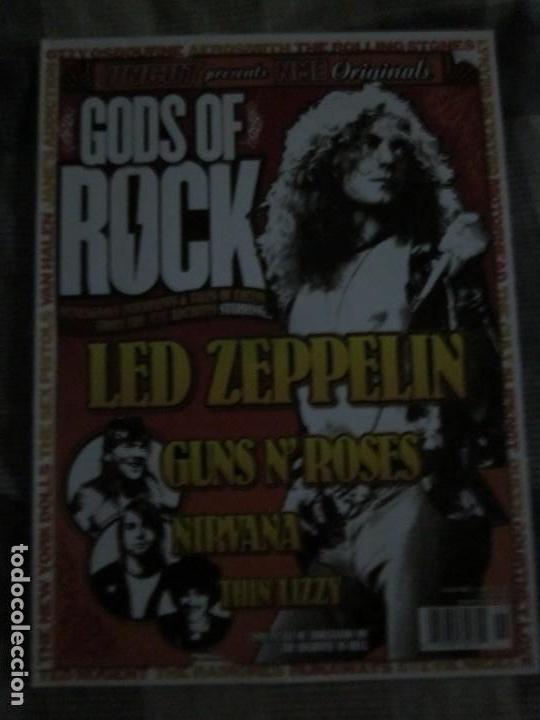 GODS OF ROCK - UNCUT NME MAGAZINE - REVISTA EN INGLES - OZZY,QUEEN,RAMONES,NIRVANA,ROLLINGS,ETC. (Música - Catálogos de Música, Libros y Cancioneros)