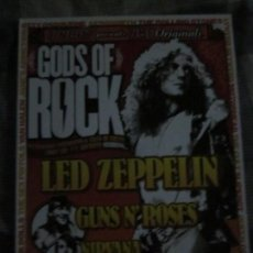 Catálogos de Música: GODS OF ROCK - UNCUT NME MAGAZINE - REVISTA EN INGLES - OZZY,QUEEN,RAMONES,NIRVANA,ROLLINGS,ETC.. Lote 130977200