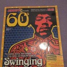 Catálogos de Música: 60'S - UNCUT NME MAGAZINE - REVISTA EN INGLES - BEATLES,STONES,WHO,PINK FLOYD,DOORS,DYLAN,ETC.. Lote 130978392
