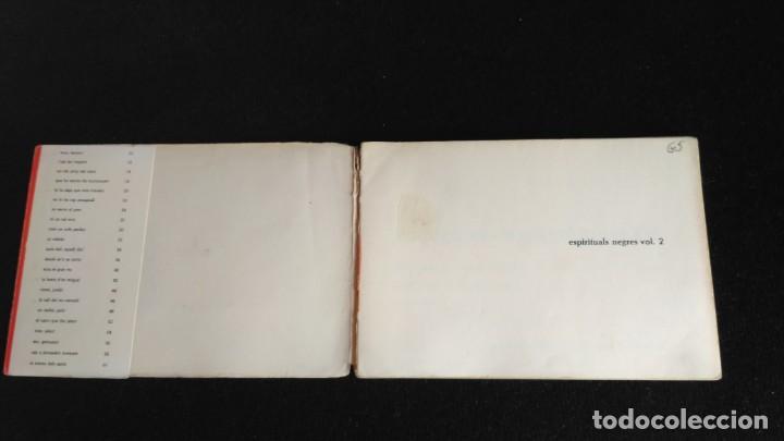 Catálogos de Música: ESPIRITUALS NEGRES - VOL 2 - 1974 - Foto 2 - 131434326