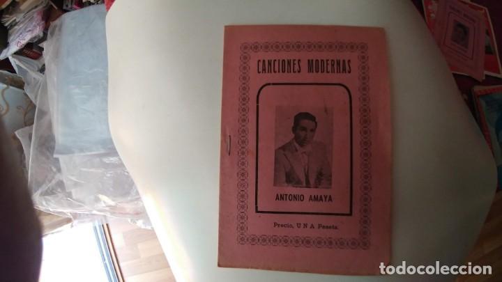 CANCIONERO DE ANTONIO AMAYA (Música - Catálogos de Música, Libros y Cancioneros)