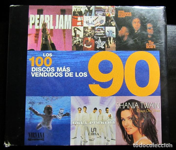 LOS 100 DISCOS MAS VENDIDOS DE LOS 90 THE 100 BEST-SELLING ALBUMS OF THE 90S (SPANISH EDITION) / AU (Música - Catálogos de Música, Libros y Cancioneros)