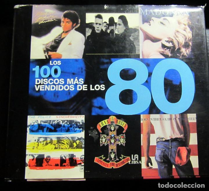 LOS 100 DISCOS MAS VENDIDOS DE LOS 80 (SPANISH EDITION) / AUTY, DAN; CAWTHORNE, JUSTIN (Música - Catálogos de Música, Libros y Cancioneros)