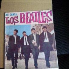 Catálogos de Música: LOS BEATLES CANCIONERO SERIE ASI CANTA EDITORIAL ALAS BARCELONA 1964 COLECCION PRIVADA. Lote 132355846